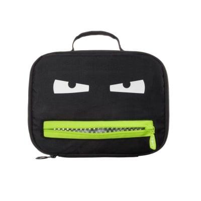 Чанта за храна Grillz, 26.5х8х20cm, черно/ лайм