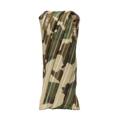 Несесер Camo, 22x2x10cm, зелен камуфлаж