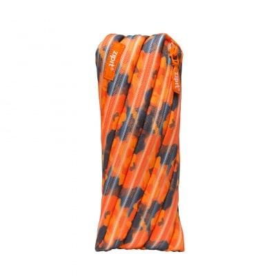 Несесер Camo, 22x2x10cm, оранжев камуфлаж