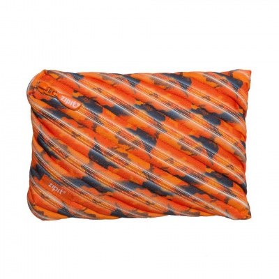 Jumbo несесер Camo, 23x2x15cm, оранжев камуфлаж