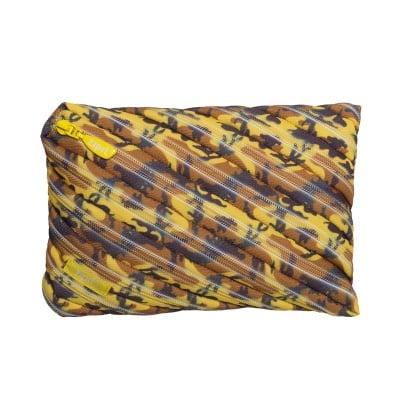 Jumbo несесер Camo, 23x2x15cm, жълт камуфлаж