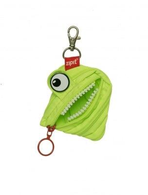 Несесер с ключодържател Monsters, зелен
