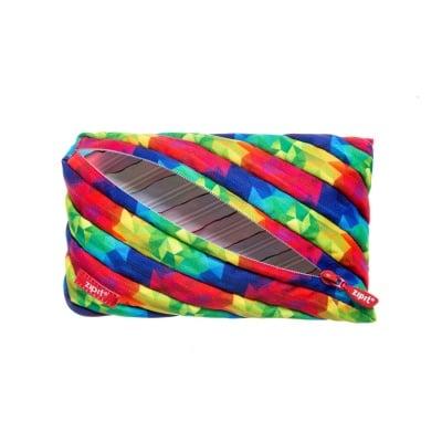 Jumbo несесер Fresh Twister, 23x2x15cm, калейдоскоп