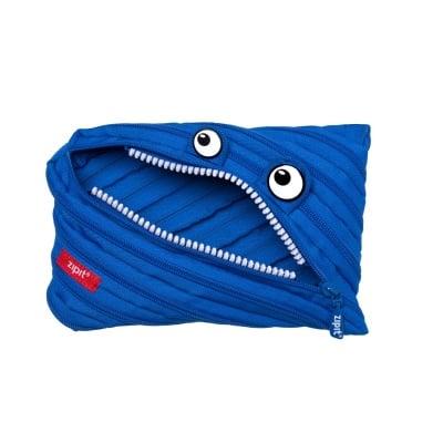 Jumbo несесер Classic Monster, 23x2x15cm, син