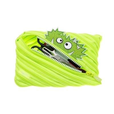 Jumbo несесер Talk Monst, 23 x 2 x 15 cm, зелен