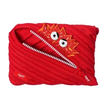 Jumbo несесер Talk Monst, 23 x 2 x 15 cm, червен