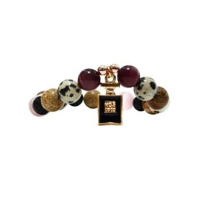 ГРИВНА ЯСПИС, КОТЕШКО ОКО, ХЕМАТИТ, ВУЛКАНИЧНА ЛАВА - 100% естествени камъни, ръчна изработка, Coco