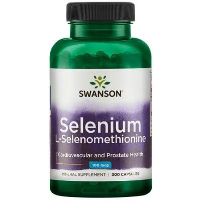 СЕЛЕН 100 мкг. - подкрепя щитовидната жлеза и нейните функции * 300 капсули