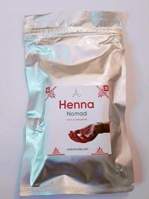 HЕNNA NOMAD - суперфина къна на прах с качество за боди арт *100 гр., Indiartcafe