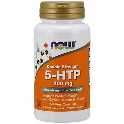 5 - ХИДРОКСИТРИПТОФАН влияе на настроението, апетита и съня 200 мг. * 60капсули, НАУ ФУДС