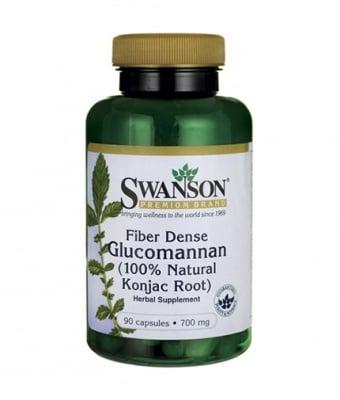 ГЛЮКОМАНАН КОНДЖАК 665 мг. фибри, здравословни нива на холестерол * 90капсули, СУОНСЪН