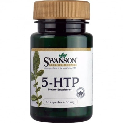 ПЕТ ХИДРОКСИ ТРИПТОФАН 50 мг. повишава настроението и намалява стреса * 60капсули, СУОНСЪН