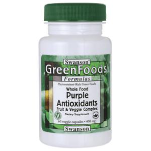 ПУРПУРНИ АНТИОКСИДАНТИ КОМПЛЕКС 400 мг. от пурпурни плодове и зеленчуци * 60капсули, СУОНСЪН