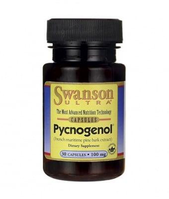 ПИКНОГЕНОЛ 100 мг. - защитава кожата, кръвоносните съдове * 30капсули, СУОНСЪН