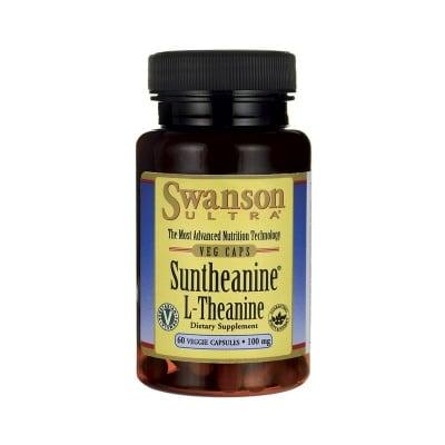 САНТЕАНИН L-ТЕАНИН 100 мг. влияе благоприятно върху качеството на съня* 60капсули, СУОНСЪН