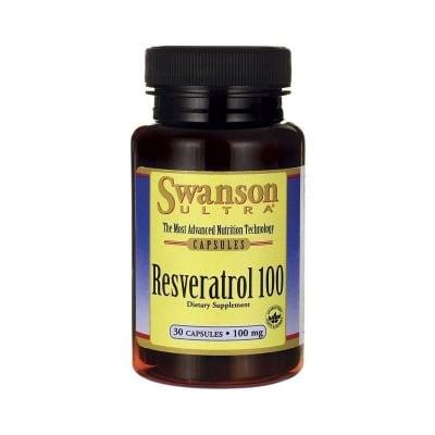 РЕСВЕРАТРОЛ 100 мг. мощен анти-ейдж ефект върху целия организъм, включително и кожата * 30капсули, СУОНСЪН