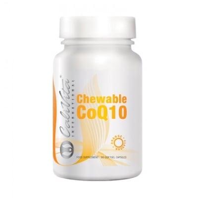 КОЕНЗИМ Q10  силен антиоксидант * 60 дъвчащи капсули