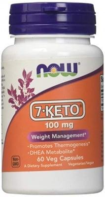 7 - КЕТО 100 мг. термогенен ефект, изгаряне на калории * 60капс., НАУ ФУДС