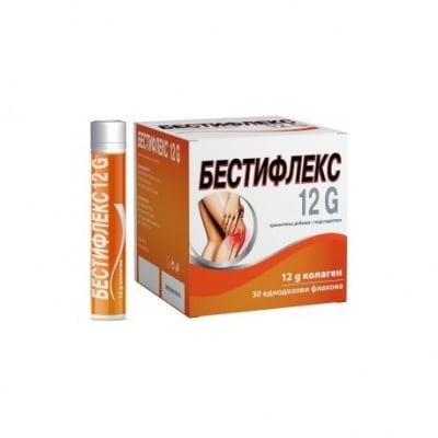 БЕСТИФЛЕКС 12 G с течен хидролизиран колаген  25 мл * 30 флакон