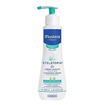 Почистващ крем за много суха кожа 200 мл., МУСТЕЛА