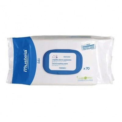 Мокри кърпи за бебе - специално създадени за смяна на памперси * 70, МУСТЕЛА