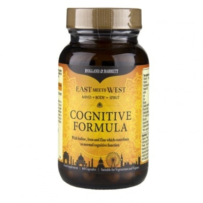 КОГНИТИВ ФОРМУЛА ЗА ПАМЕТ И КОНЦЕНТРАЦИЯ * 60капсули  HOLLAND & BARRETT