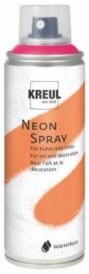 Боя спрей Kreul Neon, Neon Pink, 200 ml