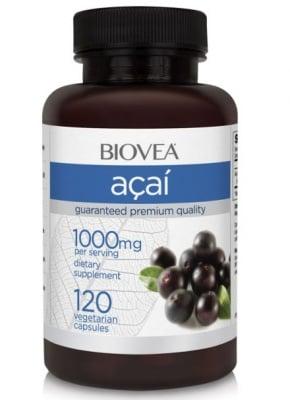 АКАЙ - неутрализира свободните радикали - капсули 1000 мг. х 120, BIOVEA