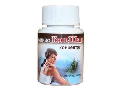 ТЯН-ШАН МУМИЙО КОНЦЕНТРАТ - 0.5 гр. х 30 капсули