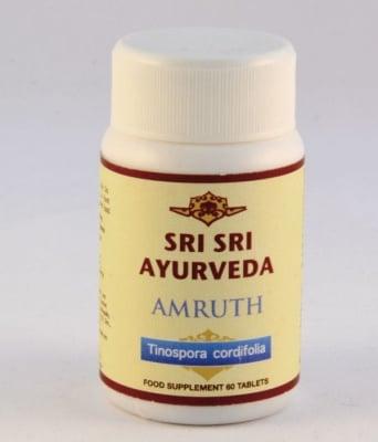 АМРУТ - оказва подмладяващо действие върху целия организъм - таблетки х 60, SRI SRI AYURVEDA