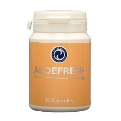 АЛОЕФРЕШ - за поддържане доброто състояние на храносмилателния тракт - капсули х 70, АКВАСОРС