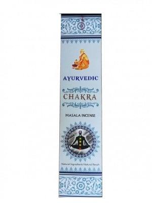 "Аюрведични ароматни пръчици ""Chakra"" - Масала - 15 броя"