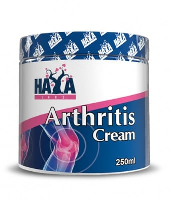 ХАЯ ЛАБС АРТРИТИС КРЕМ - действа успокояващо при проблеми със ставите и костите - 250 мл., HAYA LABS