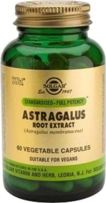 АСТРАГАЛУС - помага при хроничен стрес и настинки - капсули х 60 броя, SOLGAR