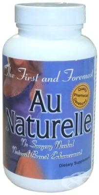 АЮ НАТУРЕЛ - натурален продукт за увеличаване на бюста - капсули х 90, USA LABORATORIES