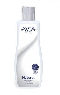 ШАМПОАН АВИА NATURAL - стимулира растежа и прави косъма еластичен и мек 200 мл.,