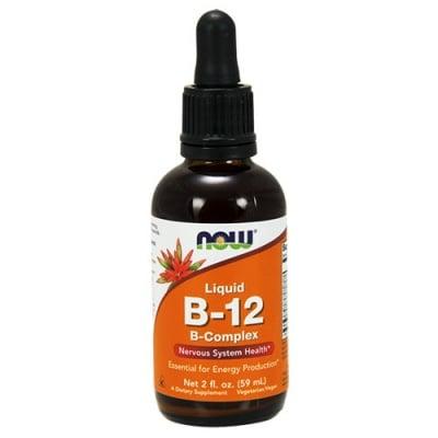 ВИТАМИН Б 12 КОМПЛЕКС за здрава нервна система -  разтвор 60 мл. НАУ ФУДС