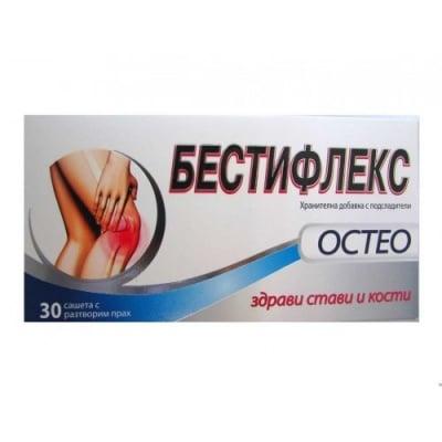 БЕСТИФЛЕКС ОСТЕО за здрави стави и кости саше * 30