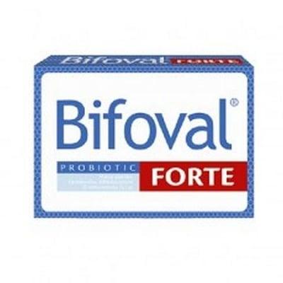 БИФОВАЛ ФОРТЕ - поддържа баланса на чревната микрофлора - х 15 капсули