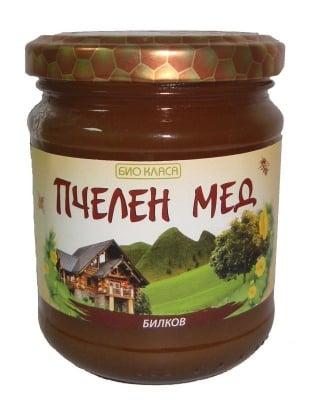 БИО ПЧЕЛЕН МЕД БИЛКОВ 275 гр.,БИО КЛАСА