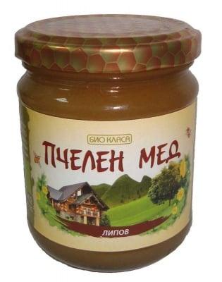БИО ПЧЕЛЕН МЕД ЛИПА 275 гр., БИО КЛАСА