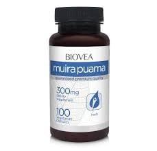 МУИРА ПУАМА - повишава сексуалната енергия -  капсули 300 мг. х 100, BIOVEA