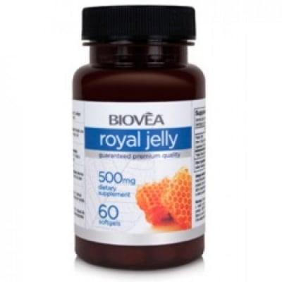 ПЧЕЛНО МЛЕЧИЦЕ - повишава имунитета, намалява симптомите на менопаузата -  капсули 500 мг. х 60 броя