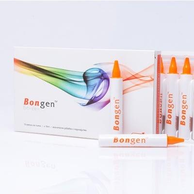 БОНГЕН грижа за ставите с хиалуронова киселина и витамин С - 10 мл * 30ампули