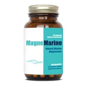 МАГНЕ МАРИН НАТУРАЛЕН МОРСКИ МАГНЕЗИЙ капсули 350 мг. * 60 ХЕРБАМЕДИКА