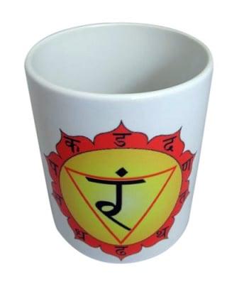 """Порцеланова чаша """"Манипура"""" - трета чакра"""