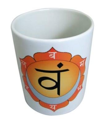 "Порцеланова чаша ""Сватхиштхана"" - втора чакра"