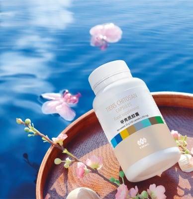 TIANSHI ХИТОЗАН - подобрява имунитета - капсули 150 мг. х 100, TIENS