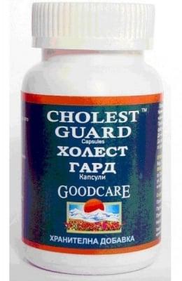 ХОЛЕСТ ГАРД - намалява нивата на холестерол в кръвта - капсули х 60, GOODCARE PHARMA