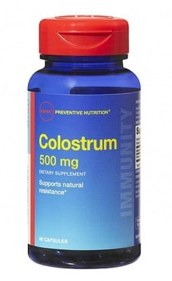 КОЛАСТРА - за силен имунитет - капсули 500 мг. х 60, GNC